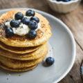 Receta Pancake AVENA + BANANO